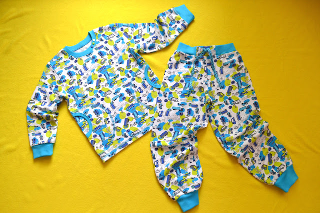 пижама для мальчика своими руками