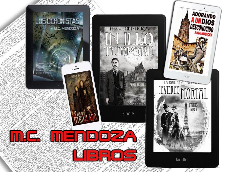 Ebooks y novelas - Web de  M. C. Mendoza