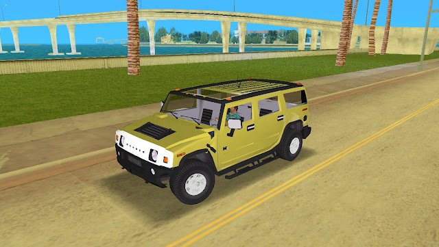 AMG Hummer H2 - GTA Vice City