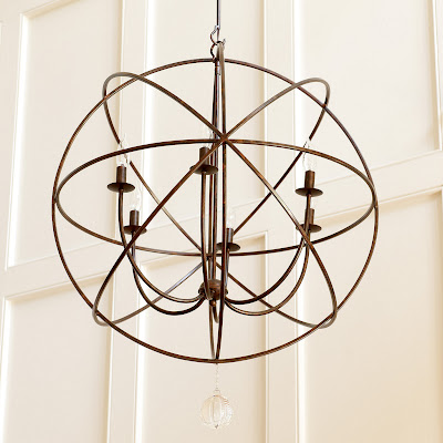 BALLARD DESIGNS ORB CHANDELIER