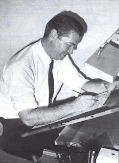 Siver Age comic book artist Murphy Anderson July 9, 1926 to October 2015