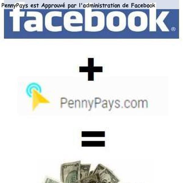 Faites passer votre pub sur FACEBOOK avec PennyPays
