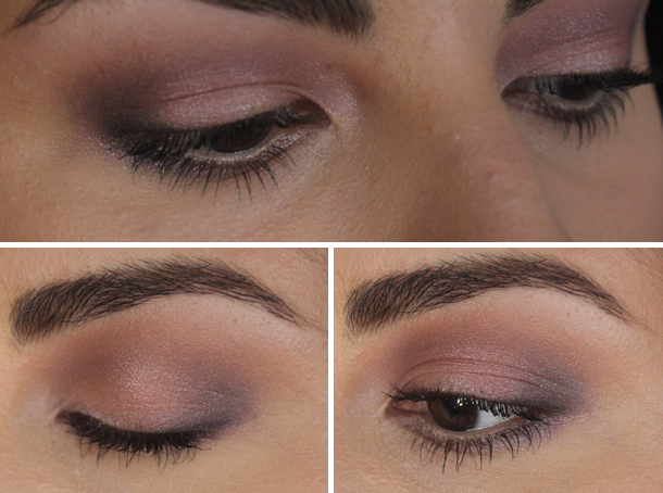 naked 3 urban decay palette makeup look nooner buzz blackheart strange