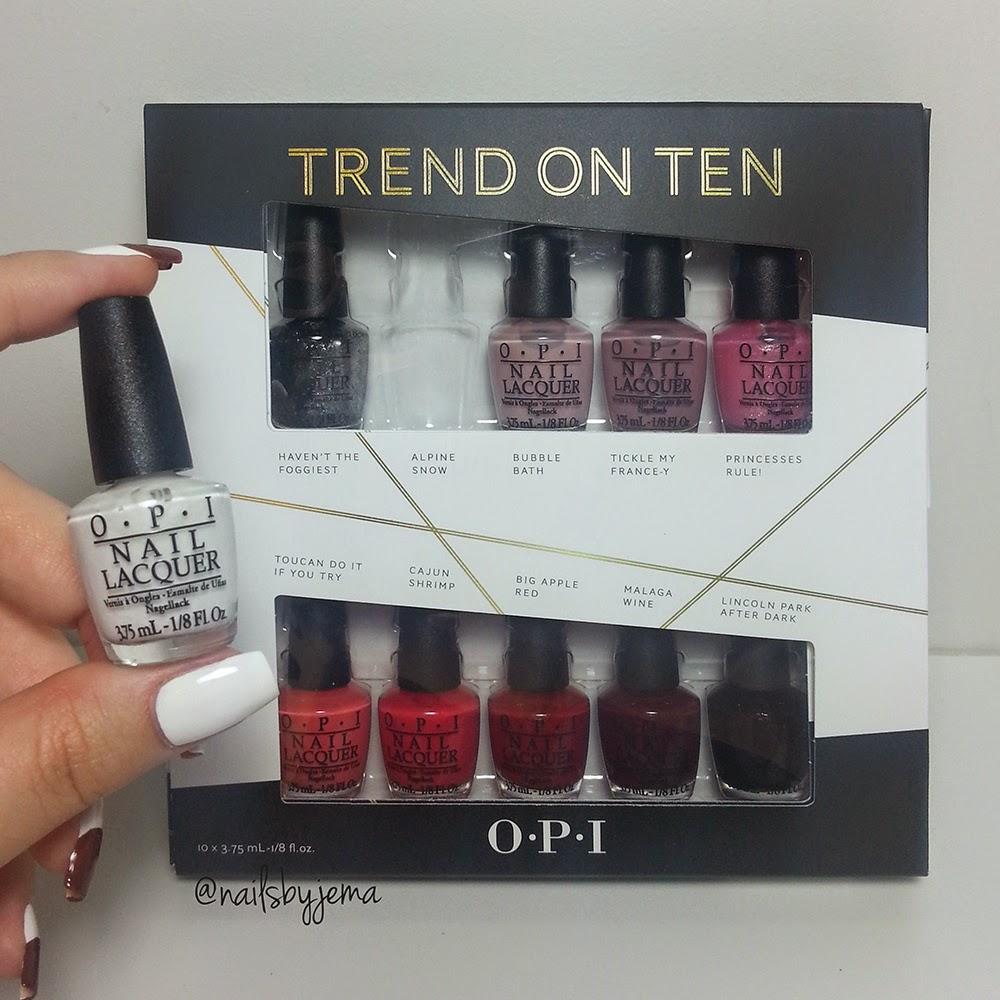 N A I L S B Y J E M A: OPI Trend on Ten 2014 Holiday Gift Set
