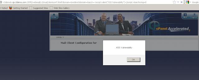 Cross Site Scripting Vulnerability