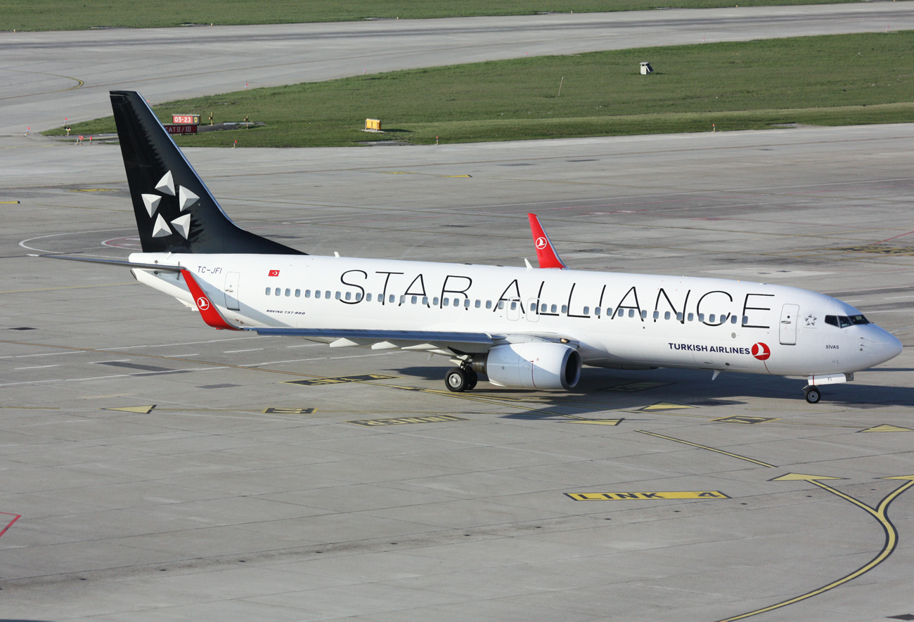 Star Alliance Airlines...