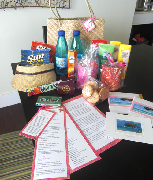 Wedding Hotel Goodie Bag Ideas : ... Weddings & Events: 20 Goodies For Your Florida Wedding Welcome Bags