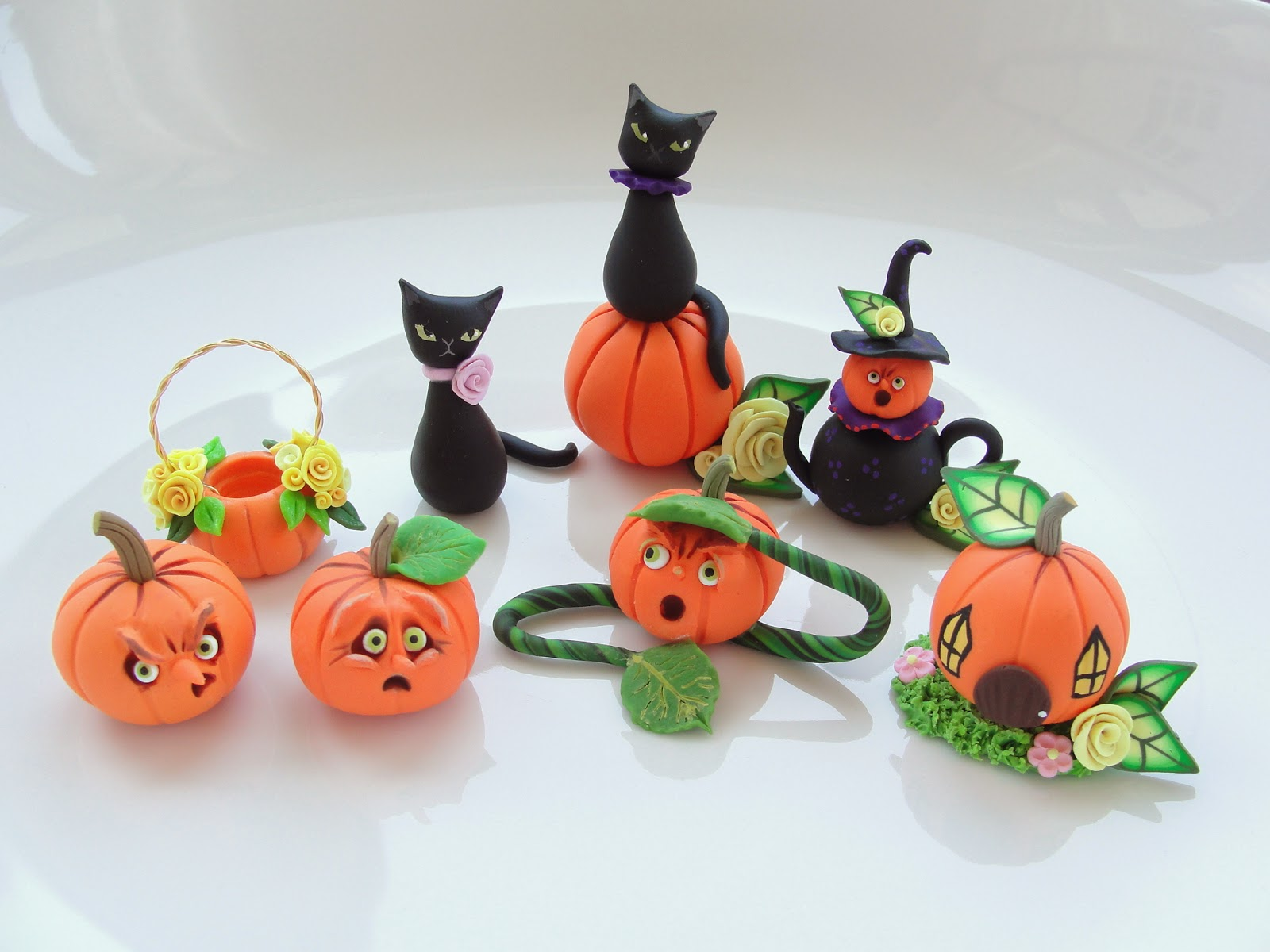 halloween dollhouse miniatures