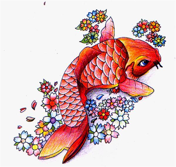 Tatuaes de pez koi completisimo fotos de tatuajes for Koi japones