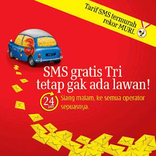 smsc gratis tgree free sms Agustus 2011 - trik sms gratis 3
