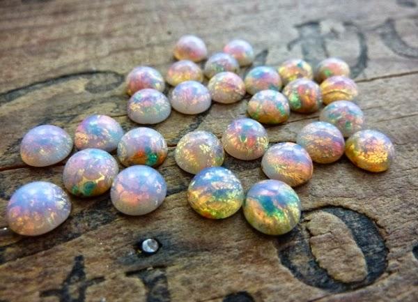 Gorgeous vintage opals #vintage #opal #gemstone