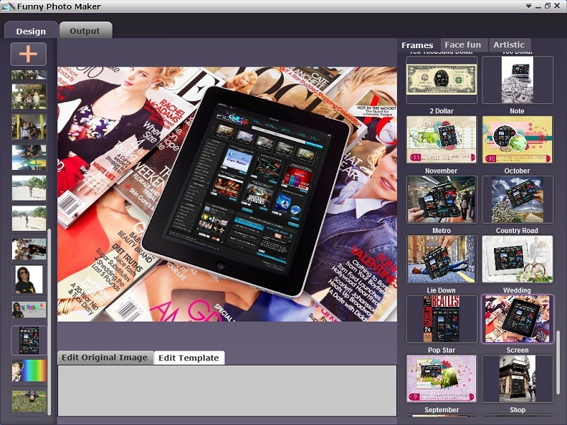 Funny Photo Maker 1.13 Free Photo Editor Software - Filiex ...