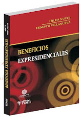 "Libro ""Beneficios Expresidenciales"""