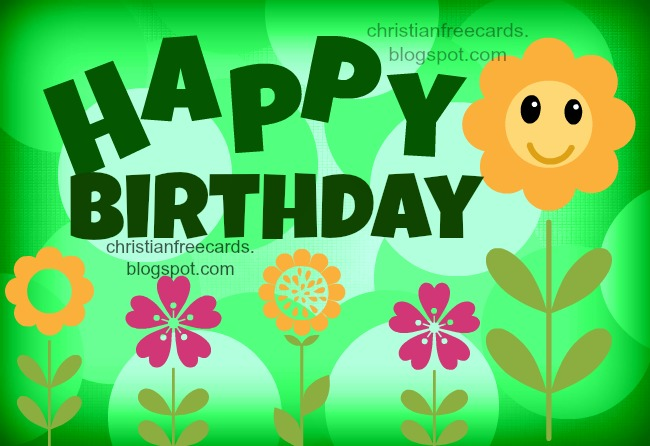 Happy Birthday you are special – Christian Birthday Verses for Cards
