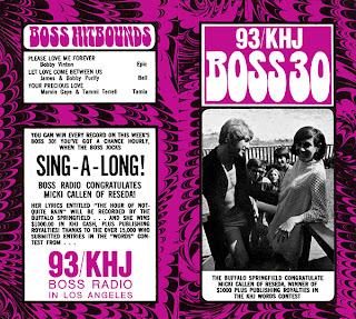 KHJ Boss 30 No. 115 - Micki Callen with Buffalo Springfield