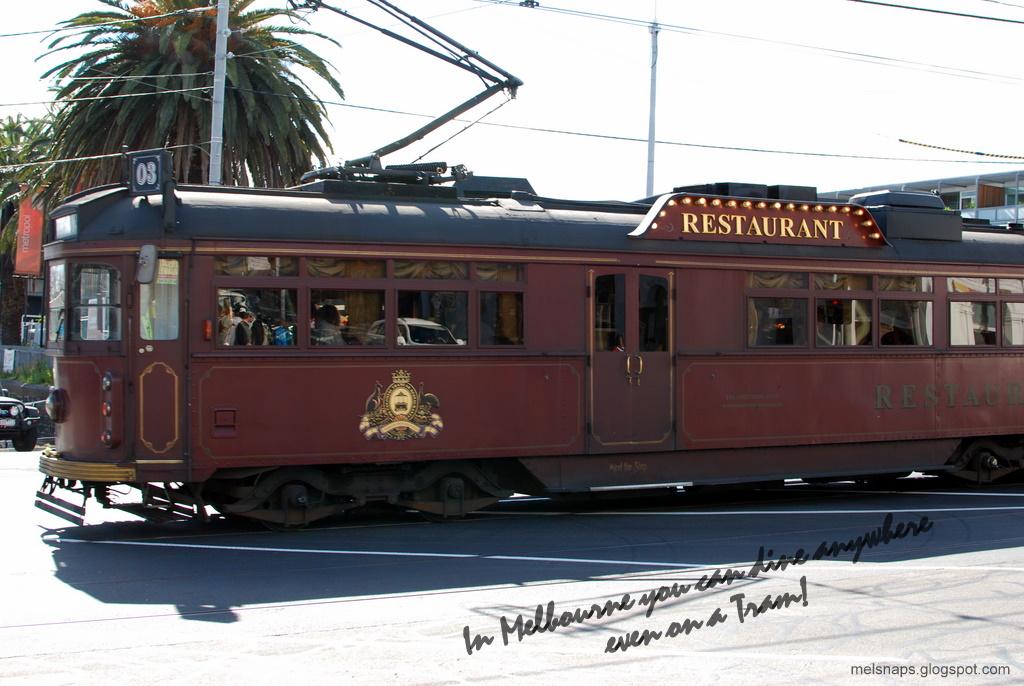 melbourne snaps colonial tramcar restaurant st kilda. Black Bedroom Furniture Sets. Home Design Ideas