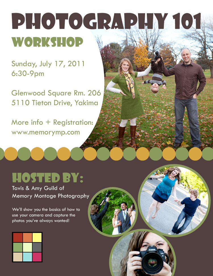 photography workshop yakima memory montage photography