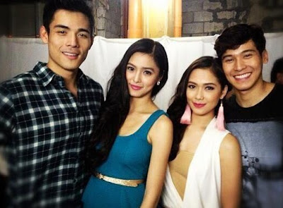 Kim, Xian, Maja and Enchong Thrill Thousands of Fans in Subic Harbor Point