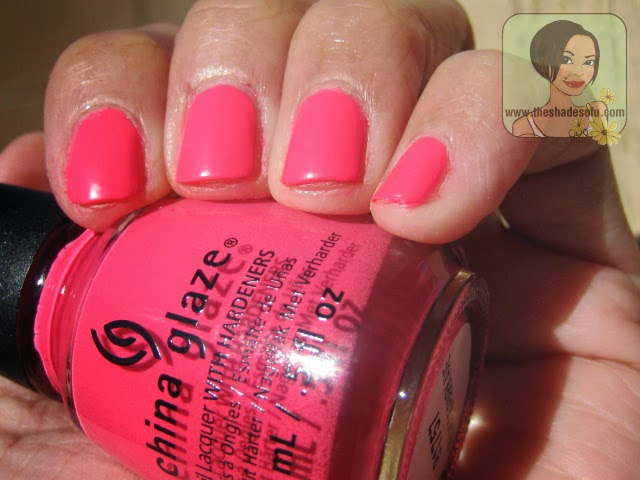 China Glaze Peonies and Park Ave.