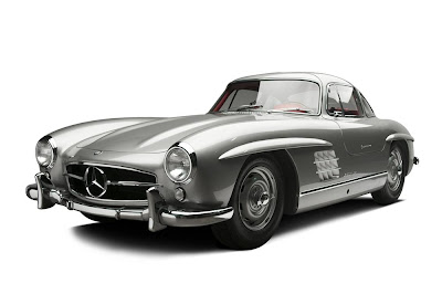 Gullwing 300 SL bought new by Clark Gable