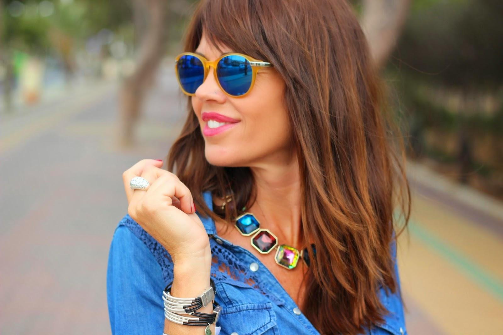Gafas Life - Collar Zara - Pulseras Cuchicuchi