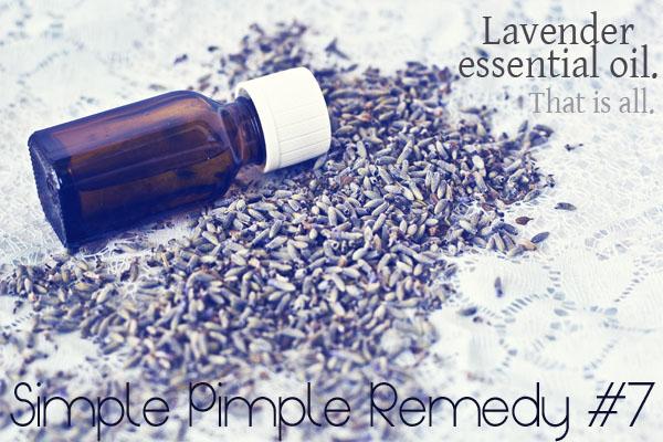 Pimple Home remedy 7 - Essential Oils