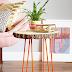 | Weekend DIY: tree slab side table