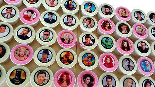 Cupcake Edible Image Celebrities