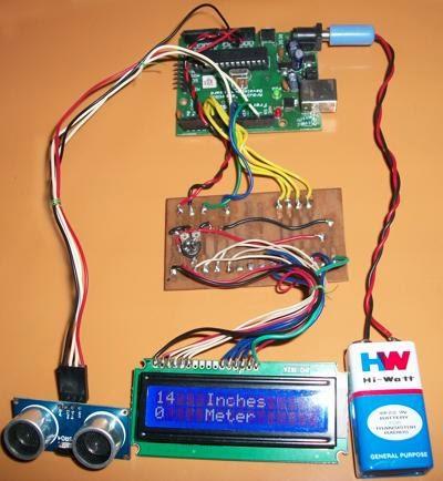 LESSON 18: Distance Meter Using Ultrasonic Sensor
