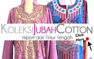 Koleksi Jubah Cotton