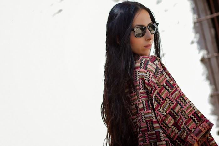Kimono Étnico de Zara