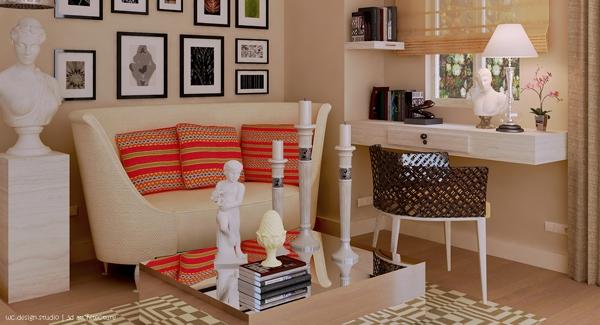 Desain Dekorasi Ruang Tamu Kecil Menarik