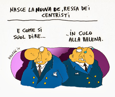 Vignetta - Nuova democrazia cristiana