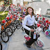 the Bike Angel of Burbank, Elaine Pease