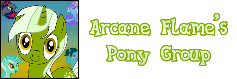 Arcane Flame's Pony Group