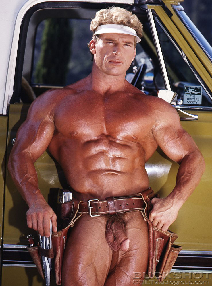 photo of gay body builder