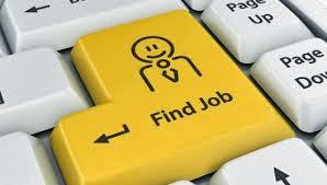 Utilizando la web para buscar trabajo.