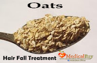 Oats Hair loss treatment, Oat hair fall loss remedy and treatment
