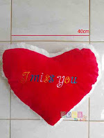 Bantal Love I Miss You