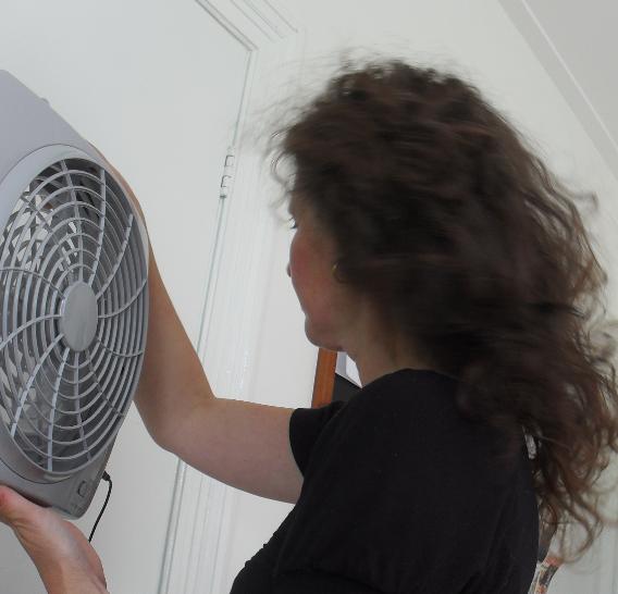 draagbare ventilator