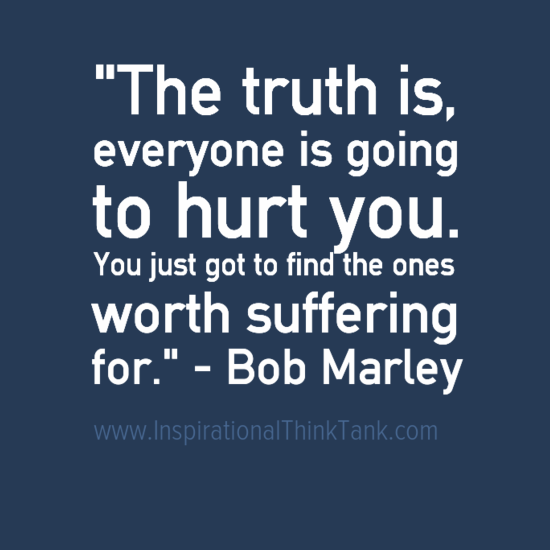 Life Changing Motivational Quote Picture by Bob Marley