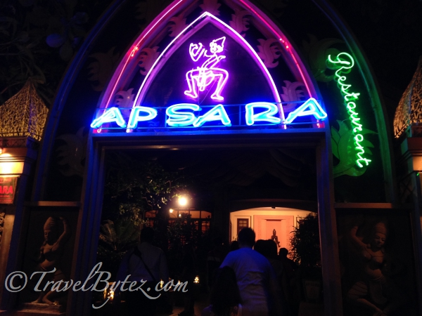 Entrance of Apsara (Vietnamese Restaurant)