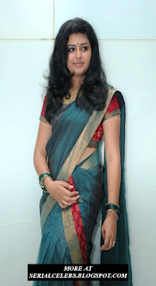 Swathi in Low hip saree
