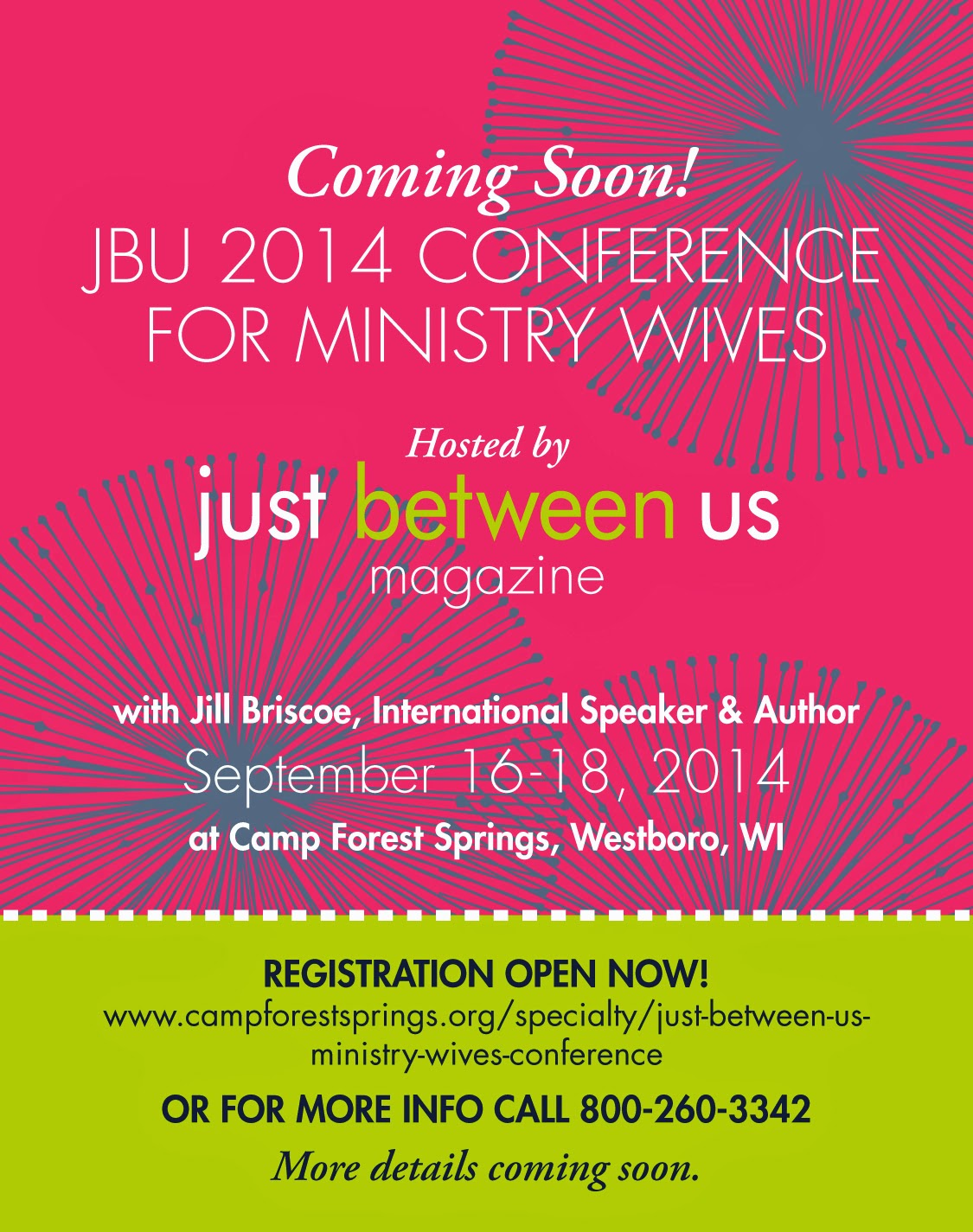 2014 JBU Ministry Wives Conference