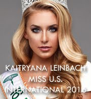 KAITRYANA LEINBACH - MISS U.S. INTERNATIONAL 2016