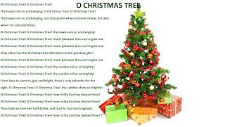 O Christmas tree - Christmas lyrics songs decoration ideas ...