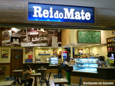 Rei do Mate: Fachada da loja do Shopping Iguatemi