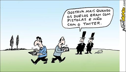 duelo de twitter