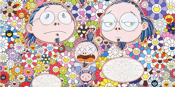 Takashi Murakami, fragment jednej z prac