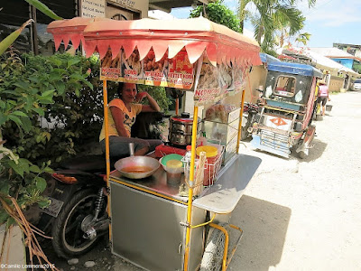 Food on Wheels; Deepfried goodies at Panagsama Beach in the Philippines